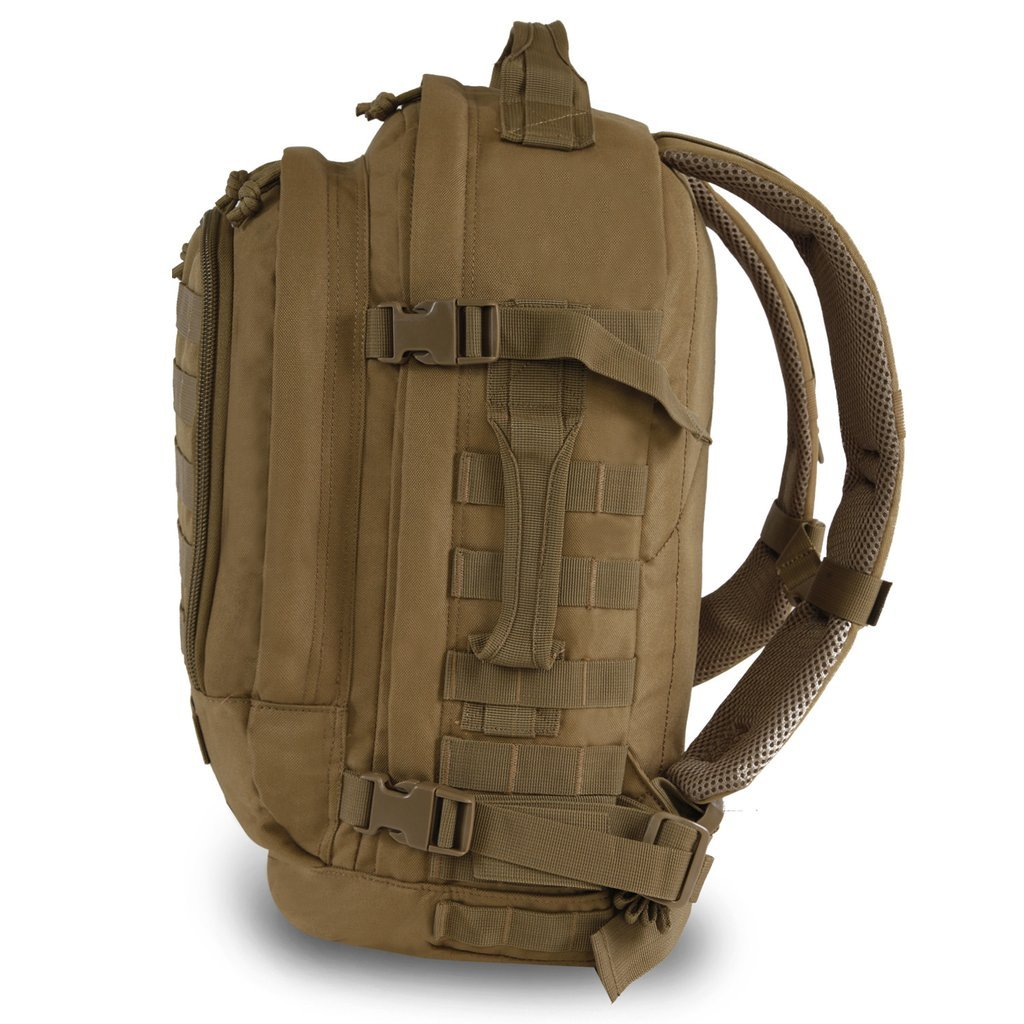 Amazon.com | Highland Tactical Rumble Heavy Duty Backpack (HLBP23) (Desert Tan) | Casual Daypacks