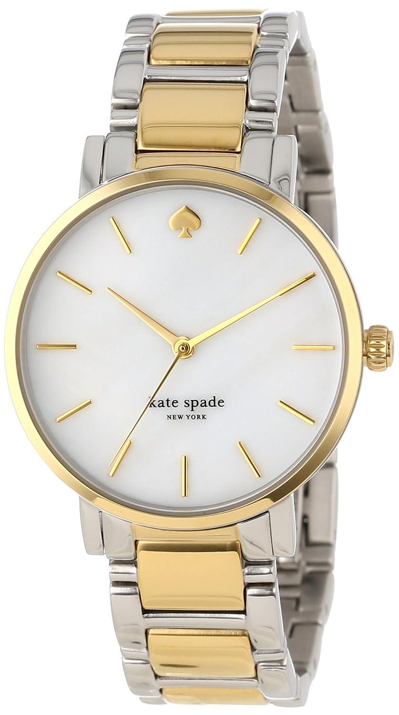 8052ce948 Amazon.com: kate spade new york Women's 1YRU0005 Gramercy Two-Tone Bracelet  Watch: Kate Spade: Watches