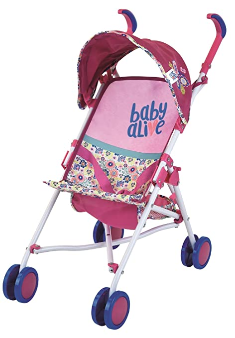 f40db1507b3 Image Unavailable. Image not available for. Color  Baby Alive Doll Stroller  Toy