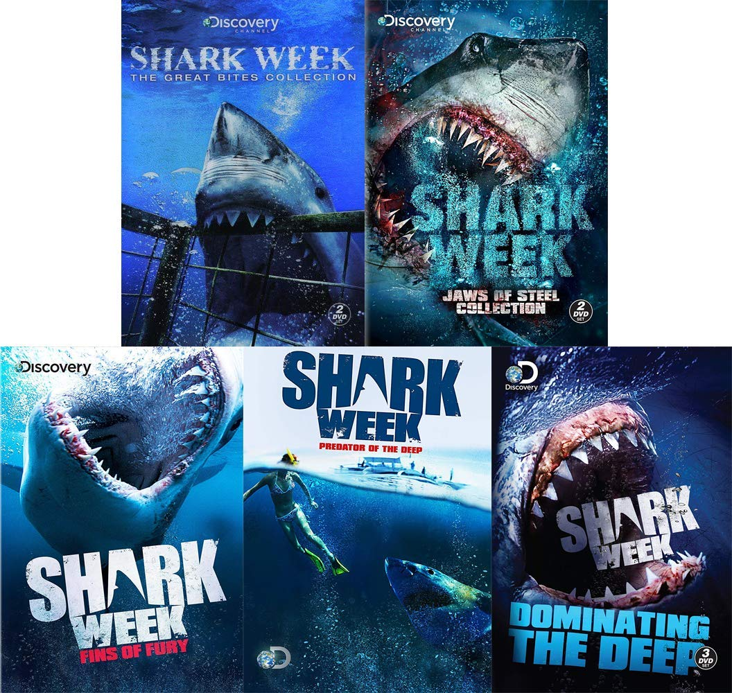 Shark Week: Discovery Channel 5 DVD Specials Collection