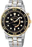 Seiko Men's SKA382 Kinetic Two-Tone Watch