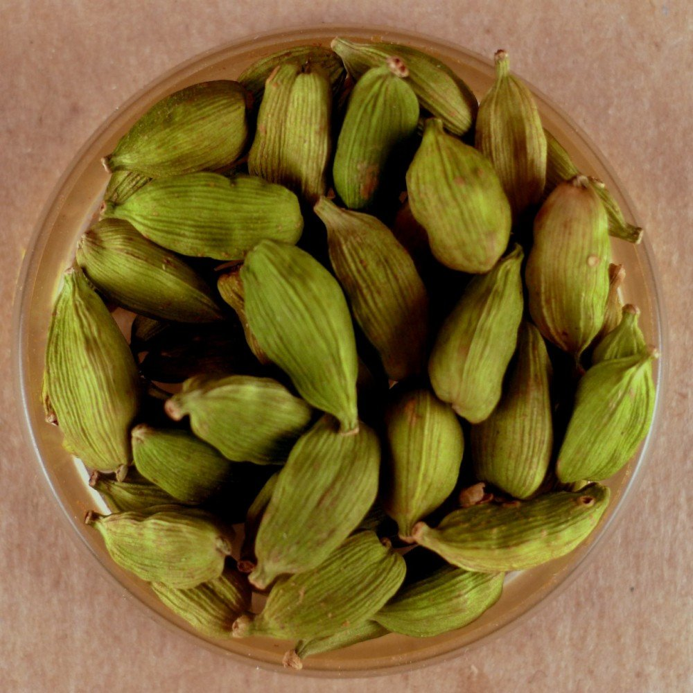 Cardamom, Whole Green Pods - 25 lbs Bulk by Spices For Less (Image #1)