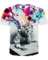 ICONLEE New 3d t-shirt men/boy brand t shirt casual sexy Hip Hop