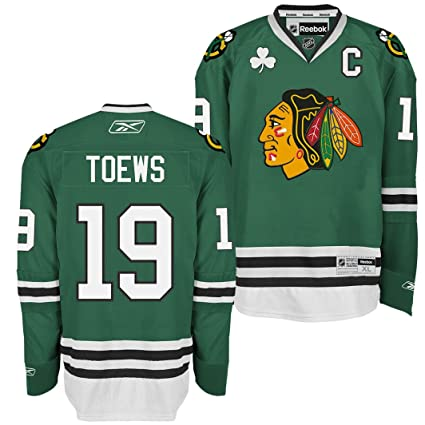 f116bf16fb9 Amazon.com : Reebok Chicago Blackhawks Jonathan Toews Premier Jersey ...