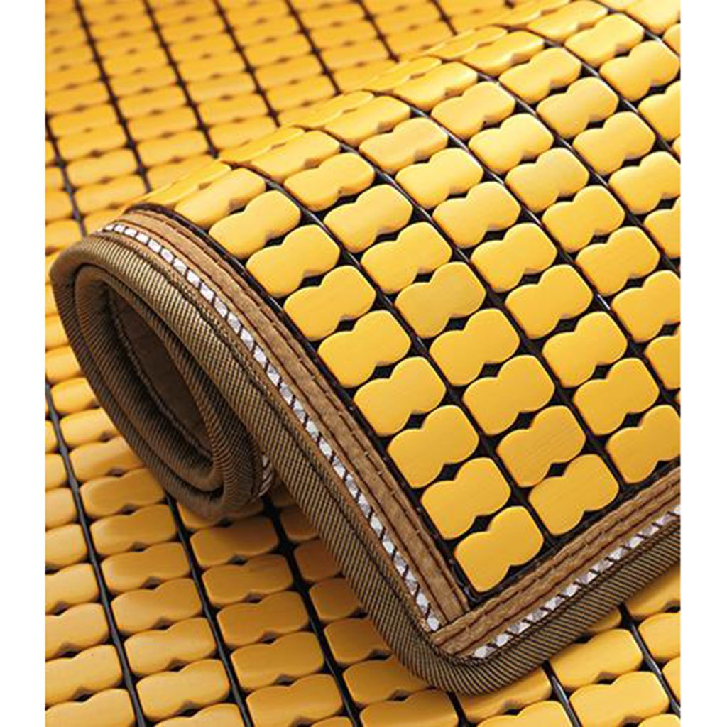 Chair Mats Sofa Cushion for Summer Cool pad Sofa mat Non-Slip Cloth Art Cushion Furniture Accessories Color : Yellow, Size : 60150cm//2459inch