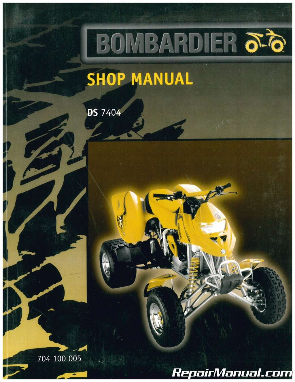 704100005 2000 Bombardier DS 650 Service Manual: Manufacturer: Amazon.com:  Books