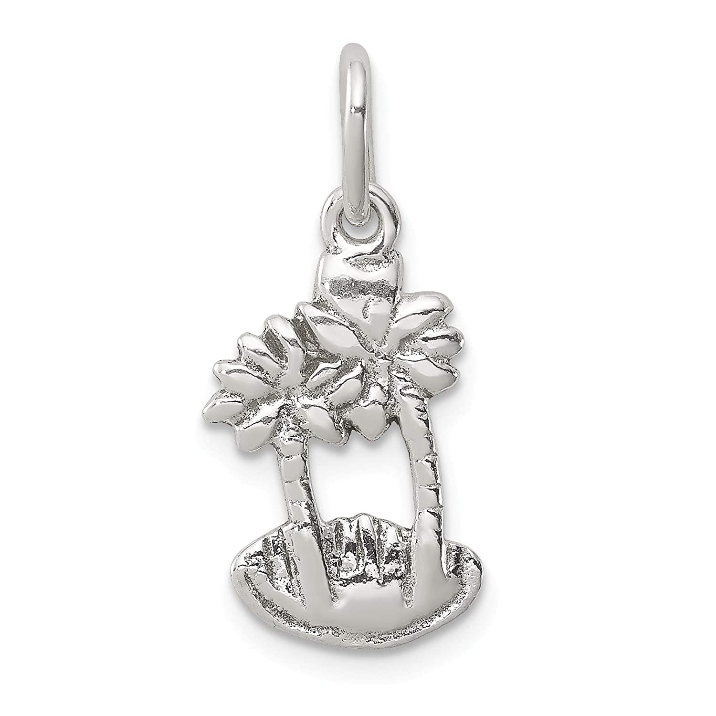 Bonyak Jewelry Sterling Silver Palm Trees Charm