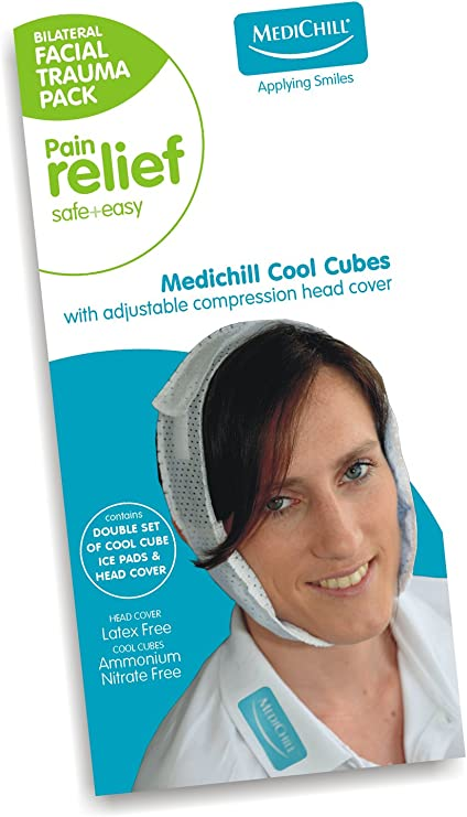 medichill Cool cubos Facial Trauma Ice Pack: Amazon.es: Salud y ...