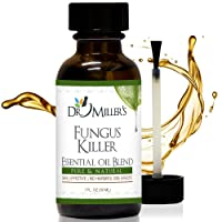 #1 Dr. Miller's Fungus Killer - Premium Extra Strength Toenail Fungus Treatment Effective Against 99.9% Of Fungi For Foot Fungus, Nail Fungus, Foot Odor, and More - 1 oz 30 ml
