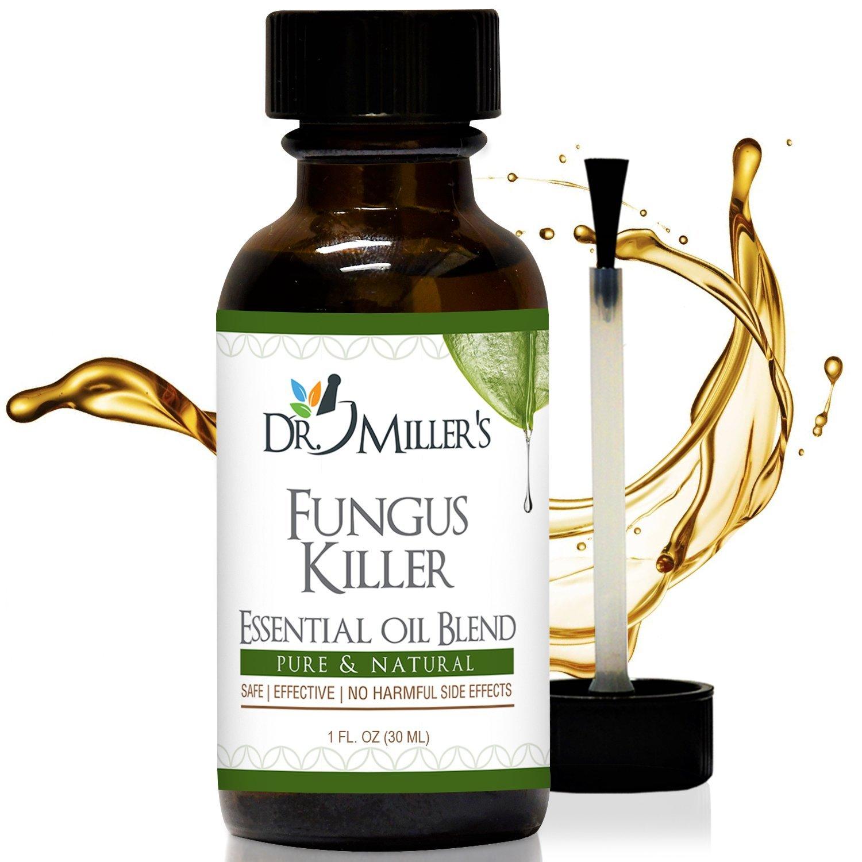 #1 Dr. Miller's Fungus Killer - Premium Extra Strength Toenail Fungus Treatment Effective Against 99.9% Of Fungi For Foot Fungus, Nail Fungus, Foot Odor, and More - 1 oz 30 ml