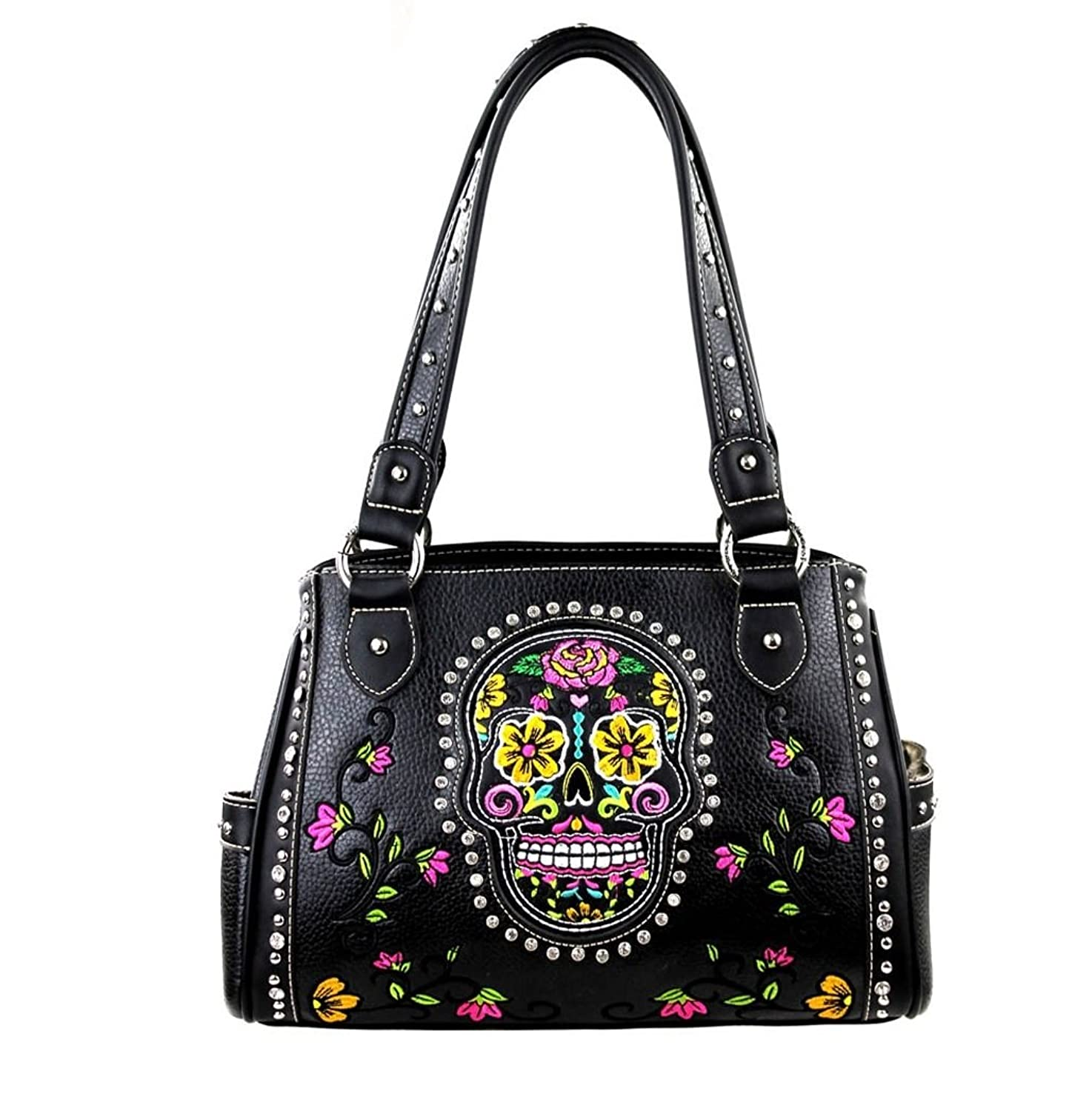 Montana West Sugar Skull Concealed Carry Purse Day Of The