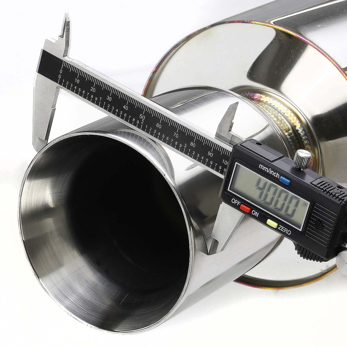 DNA Motoring CBE-AI942RS-NRT CBEAI942RSNRT Stainless Steel Catback Exhaust System