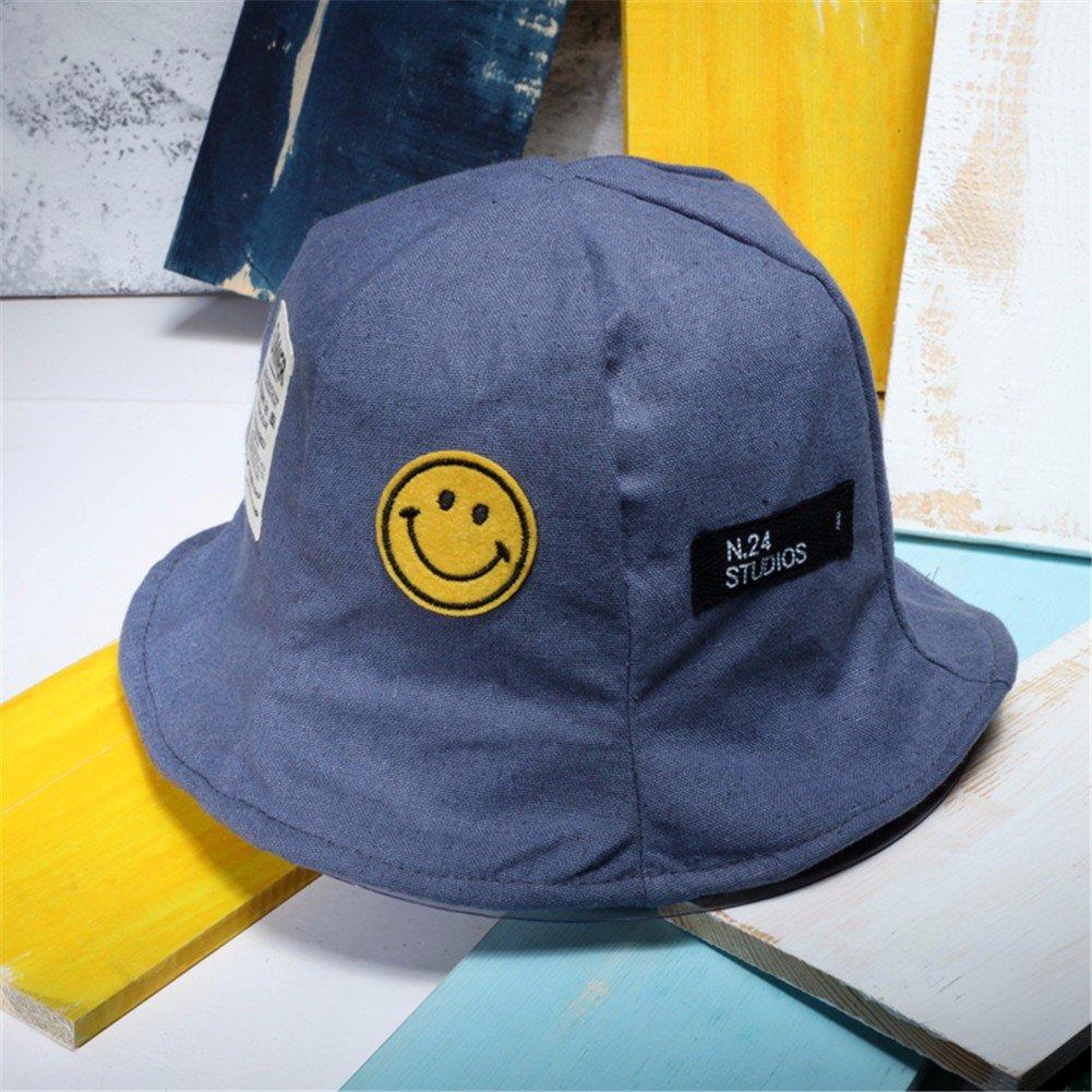 Vintage Moda Mujer Sombrero Sombrero pescador encantador Floppy Hat cuchara caliente Hat,azul