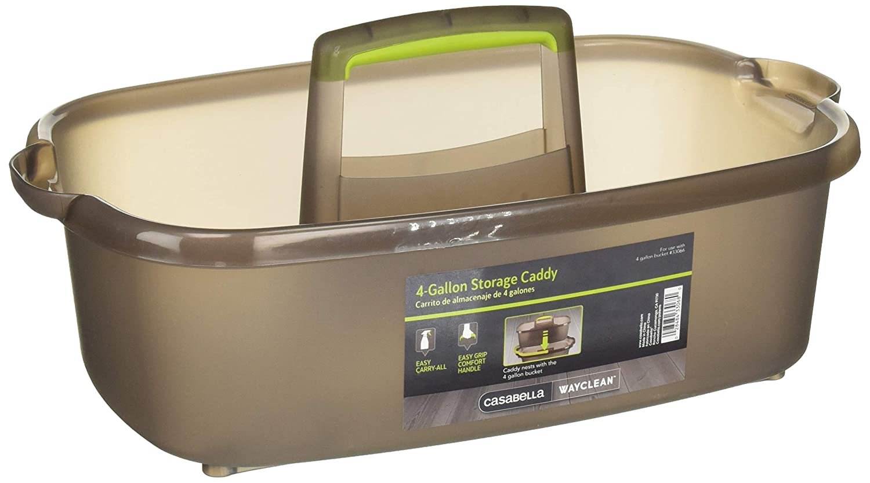 Amazon.com: Casabella Way Clean 33068 Storage Caddy - Grey/Green: Home & Kitchen