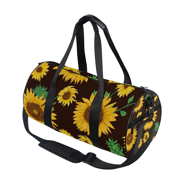 OuLian Gym Bag Fashion Comic Unicorn Rainbow Emoji Women Yoga Canvas Duffel  Bag Cute Sports Bag 1a35ddf52467f