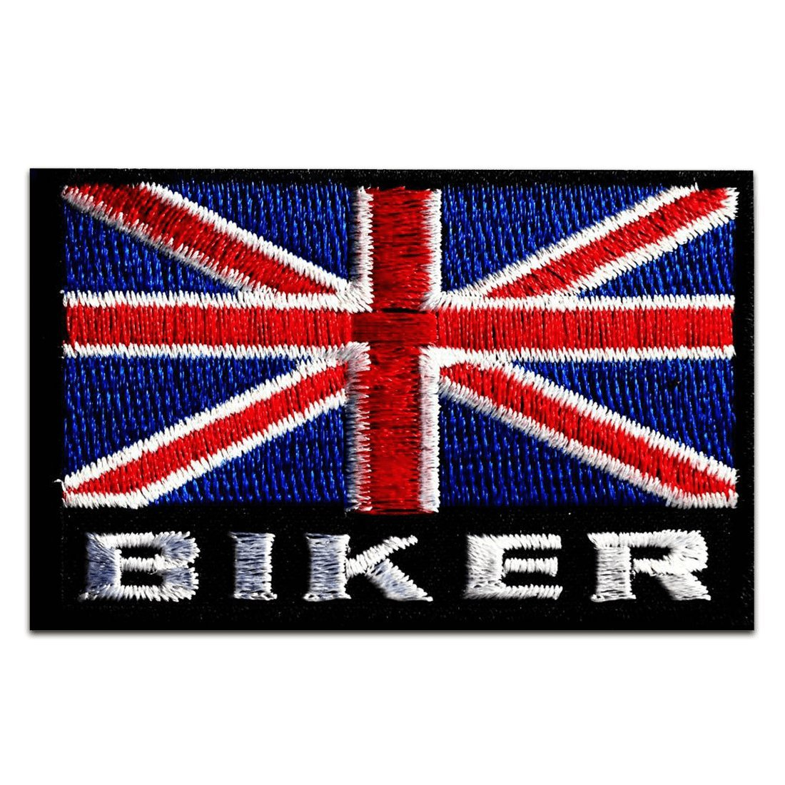 Britain UK England Flagge Fahne Aufnäher // Bügelbild Gt 6 x 7cm blau