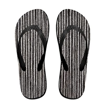 Summer Black And White Pigments Pattern Slides Sandals Flip Flops Outdoor Indoor Casual Comfy Slippers