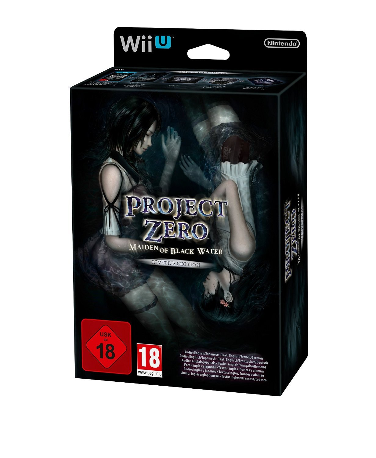 Amazon.com: Project Zero: Maiden of Black Water Limited Edition WII ...