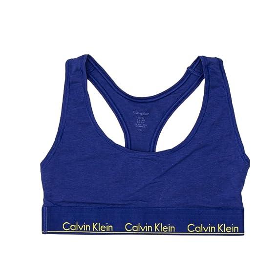 49b9bcd08d CALVIN KLEIN UNDERWEAR FEMME BRA UNLINED BRALETTE F3785E  Amazon.fr ...