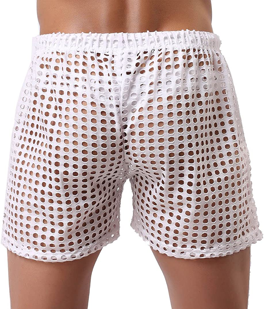 Jaxu Mens Hollow Sport Shorts