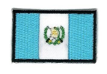 Parche para planchar con la bandera de Guatemala bordado, tamaño mediano: Amazon.es: Hogar