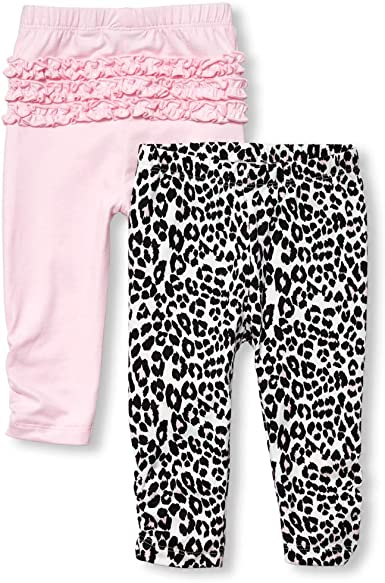 The Childrens Place Baby Girls 4 Pack Novelty Printed Pajama Layette Set