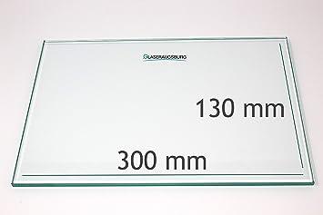 60 cm x 8 cm alle Ma/ße lieferbar Klarglas 4 mm stark 600 mm x 80 mm Glasplatte//Glasregal
