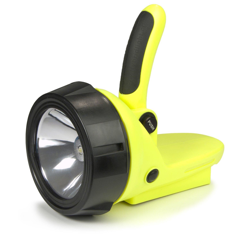 hybrid spotlight led flashlight with 3 aaa battery