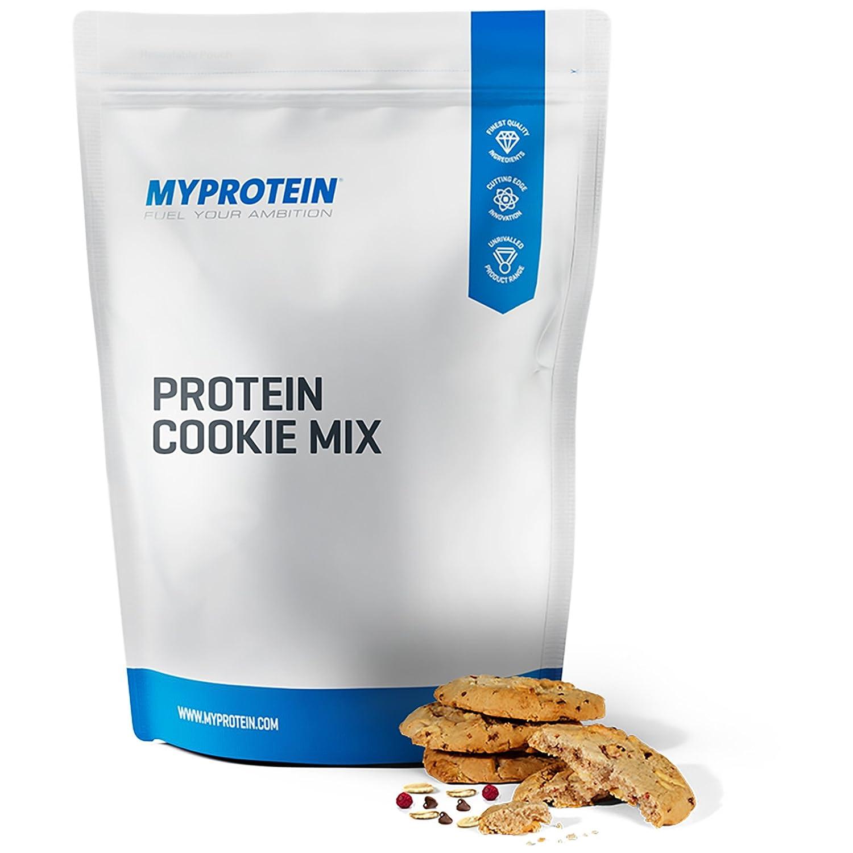 MyProtein Cookie Mix Galletas de Proteínas, Sabor Chocolate Blanco y Frambuesa Azul - 400 gr: Amazon.es: Salud y cuidado personal