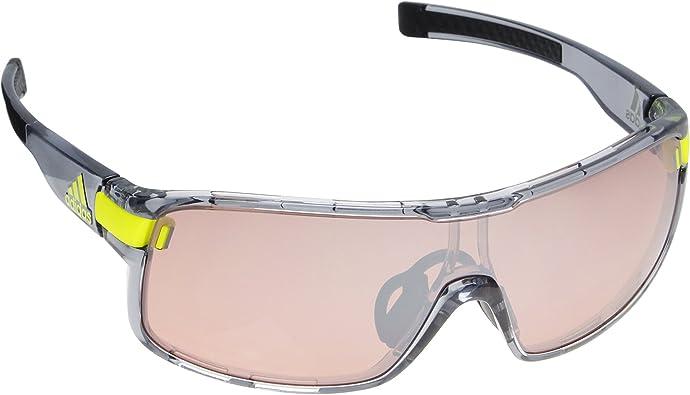 Asistir Descompostura Molde  Amazon.com: adidas Zonyk L Wrap Sunglasses, grey transparent shiny, 74 mm:  Shoes