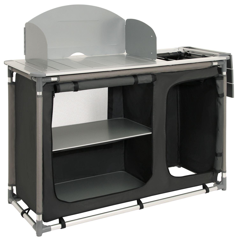 CampFeuer - Campingschrank, Campingküche mit Aluminiumgestell ...