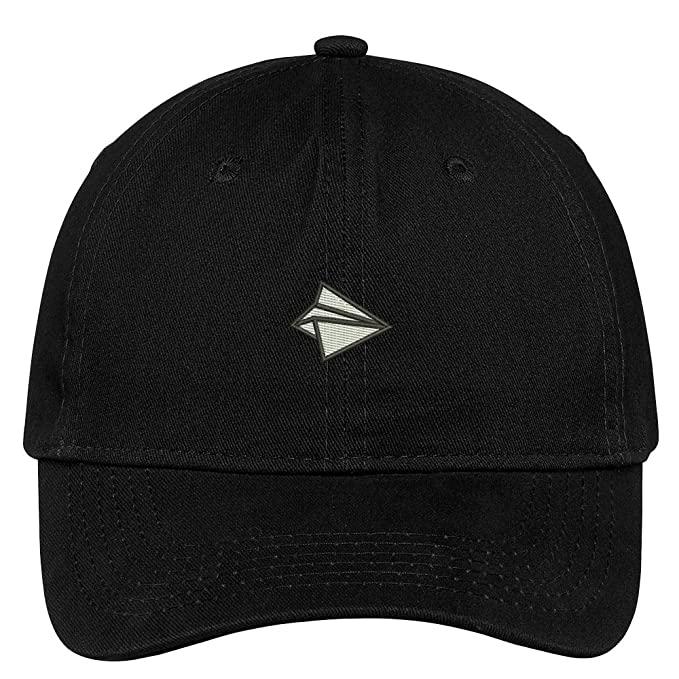 Trendy Apparel Shop Paper Airplane Embroidered Soft Low Profile Cotton Cap  Dad Hat cf0e328b2a