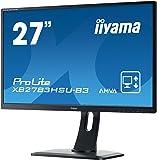 "iiyama ProLite XB2783HSU-B3 27"" Full HD A-MVA Mat Noir Plat écran plat de PC - Écrans plats de PC (68,6 cm (27""), 1920 x 1080 pixels, LED, 4 ms, 300 cd/m², Noir)"
