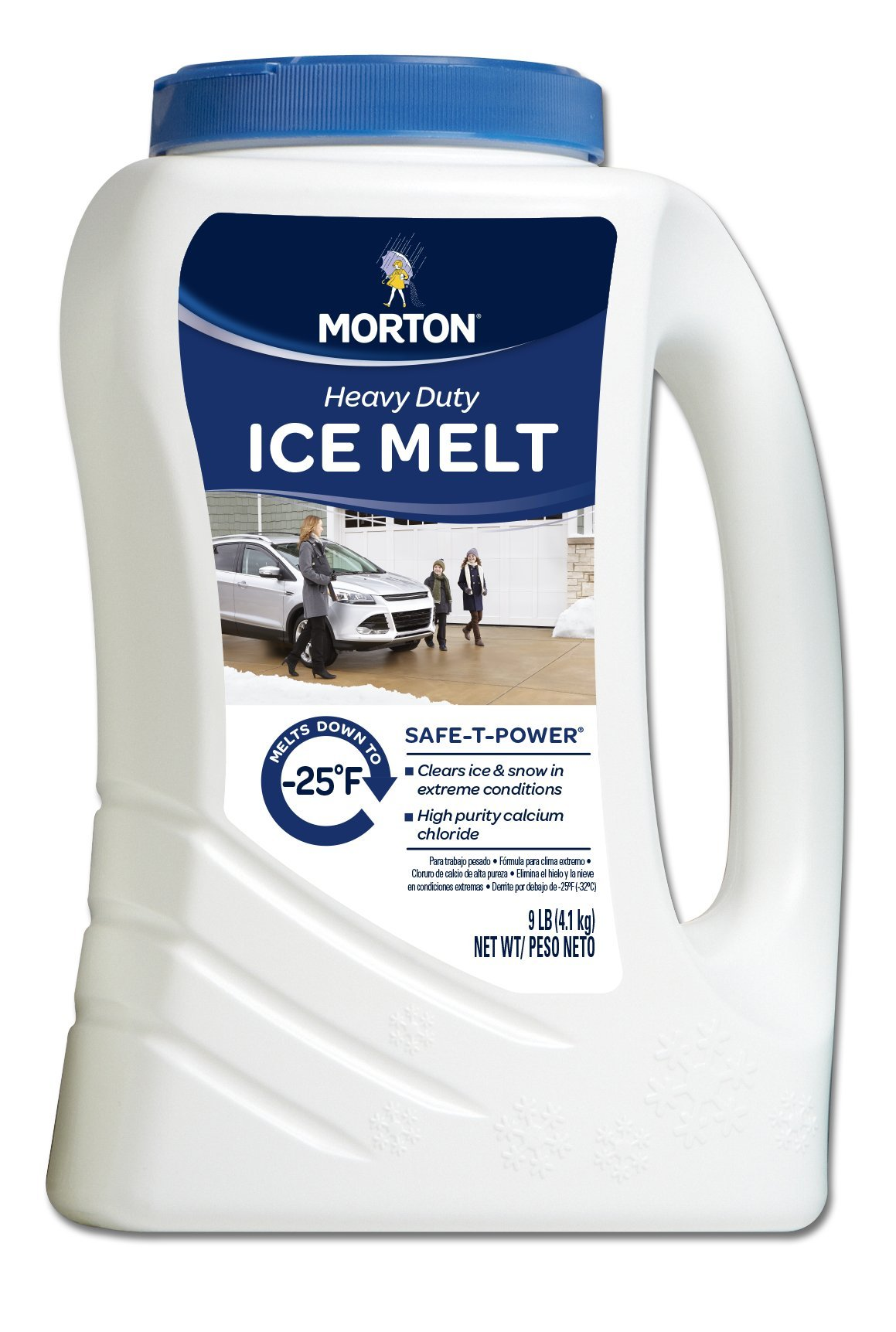 Morton Safe-T-Power Snow & Ice Melt, 9 Pound Jug by Morton (Image #1)