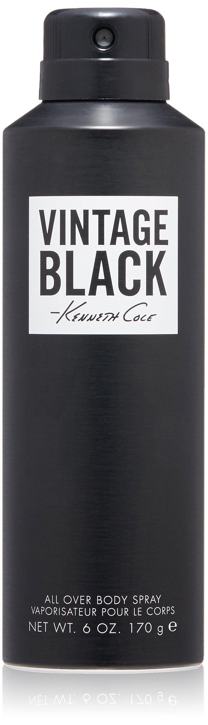 Kenneth Cole Vintage Black Body Spray 6.0 Fl Oz by Kenneth Cole
