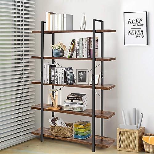 Giantex Bookshelf Modern Bookcase  - a good cheap modern bookcase
