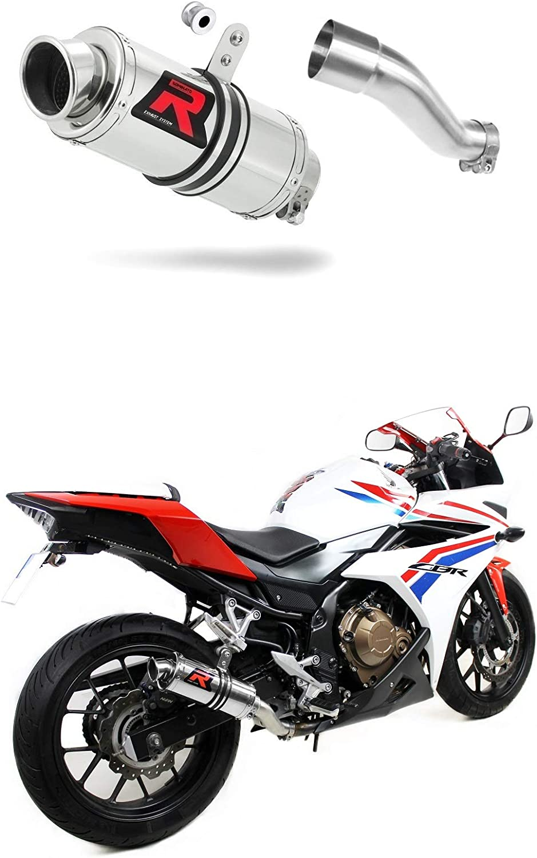 CBR 500 R Escape Moto Deportivo GP I Silenciador Dominator Exhaust Racing Slip-on 2016 2017 2018 2019