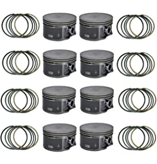Durango Grand Caravan Dodge DNJ P1169 Piston Set for 2011-2016 // Chrysler Jeep C//V Avenger Grand Cherokee Ram // 1500 Challenger 300 200 ProMaster Journey Charger