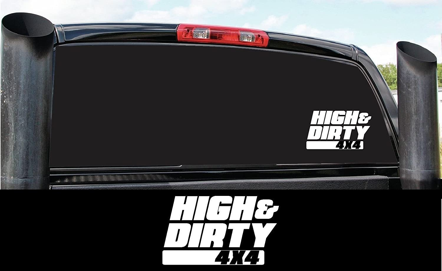 DIRTY DIESEL TRUCK VINYL DECAL STICKER MANY COLORS FREE SHIPPING