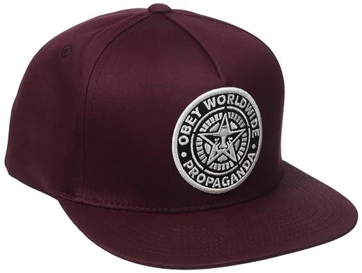 dc4da2547a1 Amazon.com  Obey Men s Classic Patch Snapback Hat