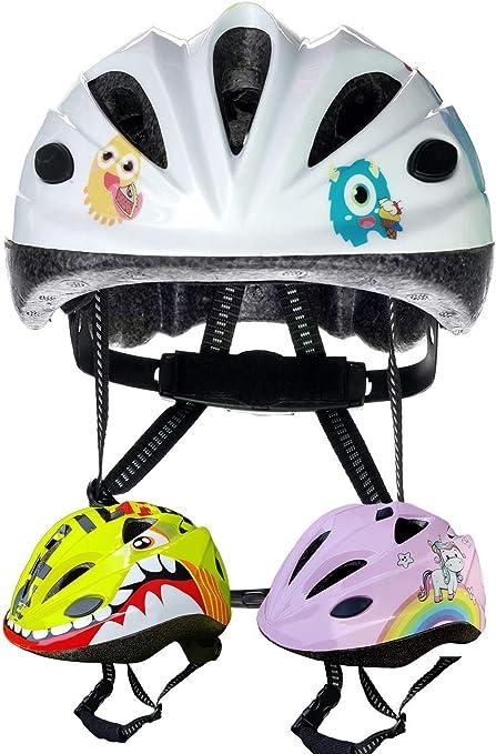 SkullCap® Casco Niño Bicicleta disenado por los niños: Amazon.es ...