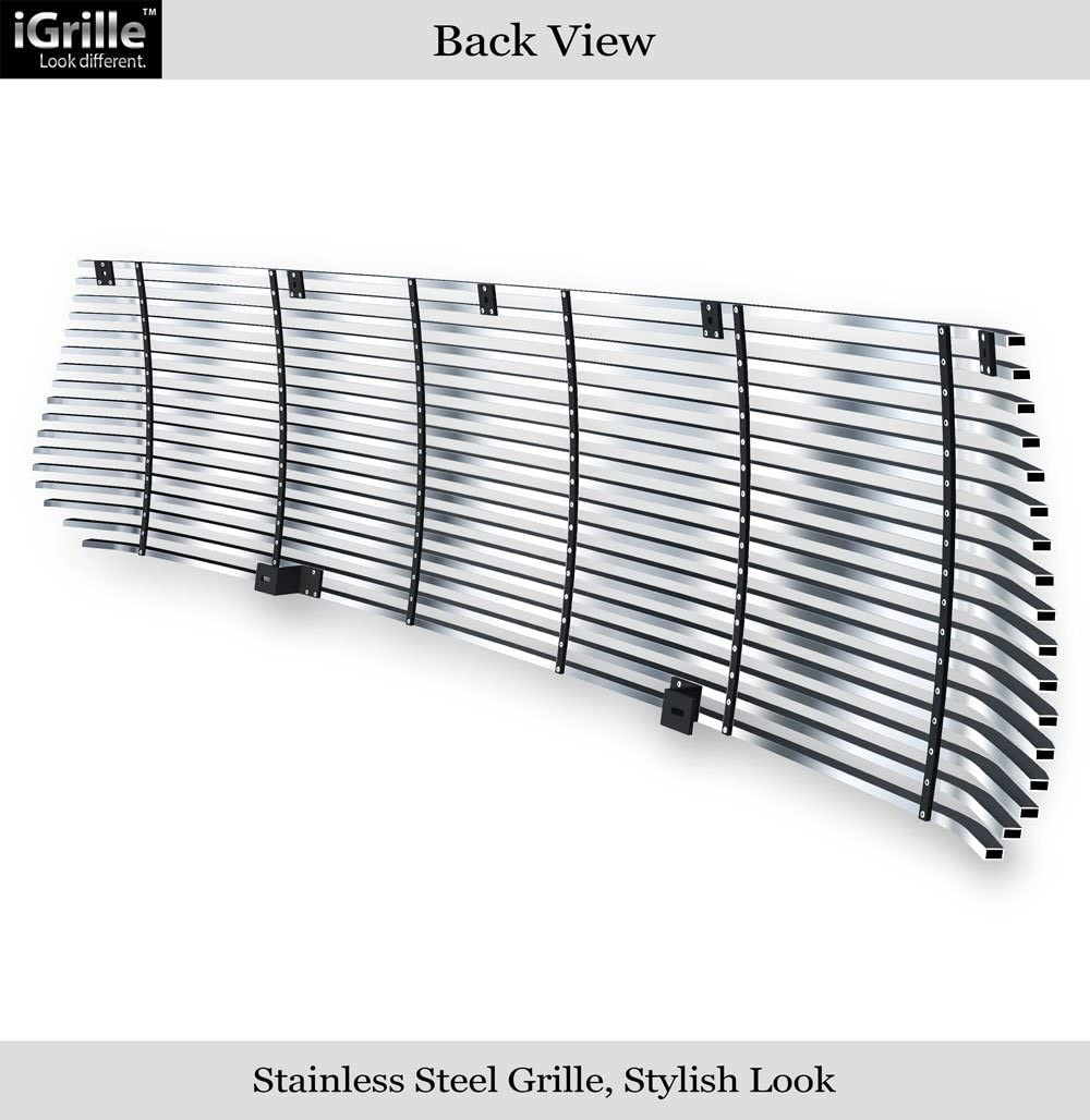APS Compatible with 2014-2020 Toyota Tundra Upper Black Billet Grille Inserts T85985H