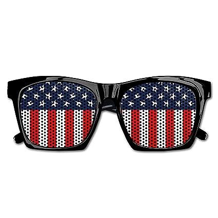 Amazon com: Quzim Patriotic American Flag Sunglasses for Men and