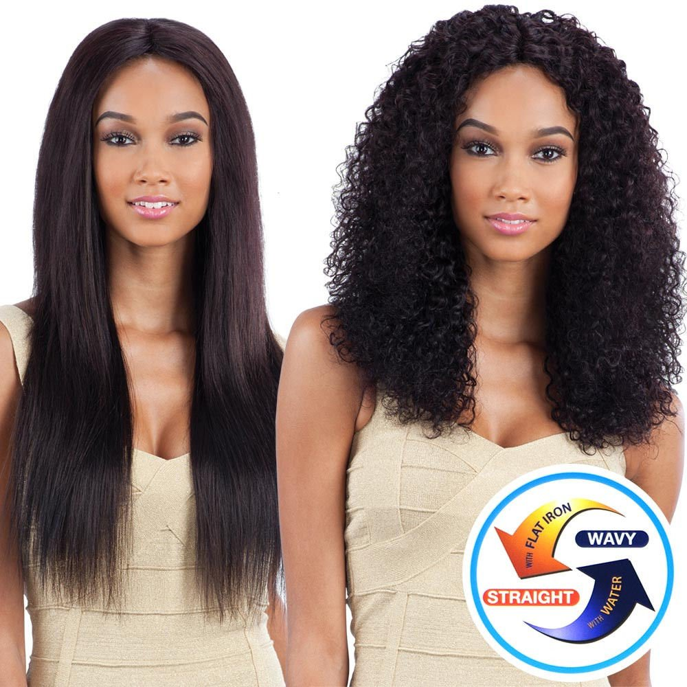 BOHEMIAN CURL 7PCS (14'' 16'' 18'') - Naked Nature Brazilian Virgin Remy 100% Human Hair Wet & Wavy
