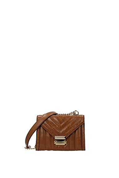 9026bcf7292af Michael Kors Umhängetaschen whitney Damen - Leder (30F8GXIL5TACORN)   Amazon.de  Schuhe   Handtaschen