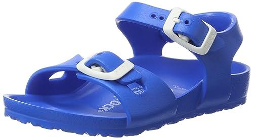 45768e959989 Birkenstock Unisex Kids  Rio Eva Sling Back Sandals  Amazon.co.uk  Shoes    Bags