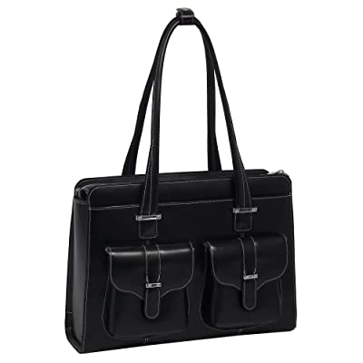 McKleinUSA ALEXIS 96545 Black Leather Ladies' Briefcase