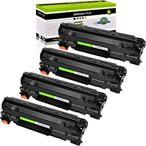 GREENCYCLE Compatible C137 CRG137 CRG 137 Toner Cartridge Replacement for Canon ImageClass MF227dw MF216n MF247dw MF249dw MF229DW MF212W MF232W D570 Laser Printer (Black,4 Pack)
