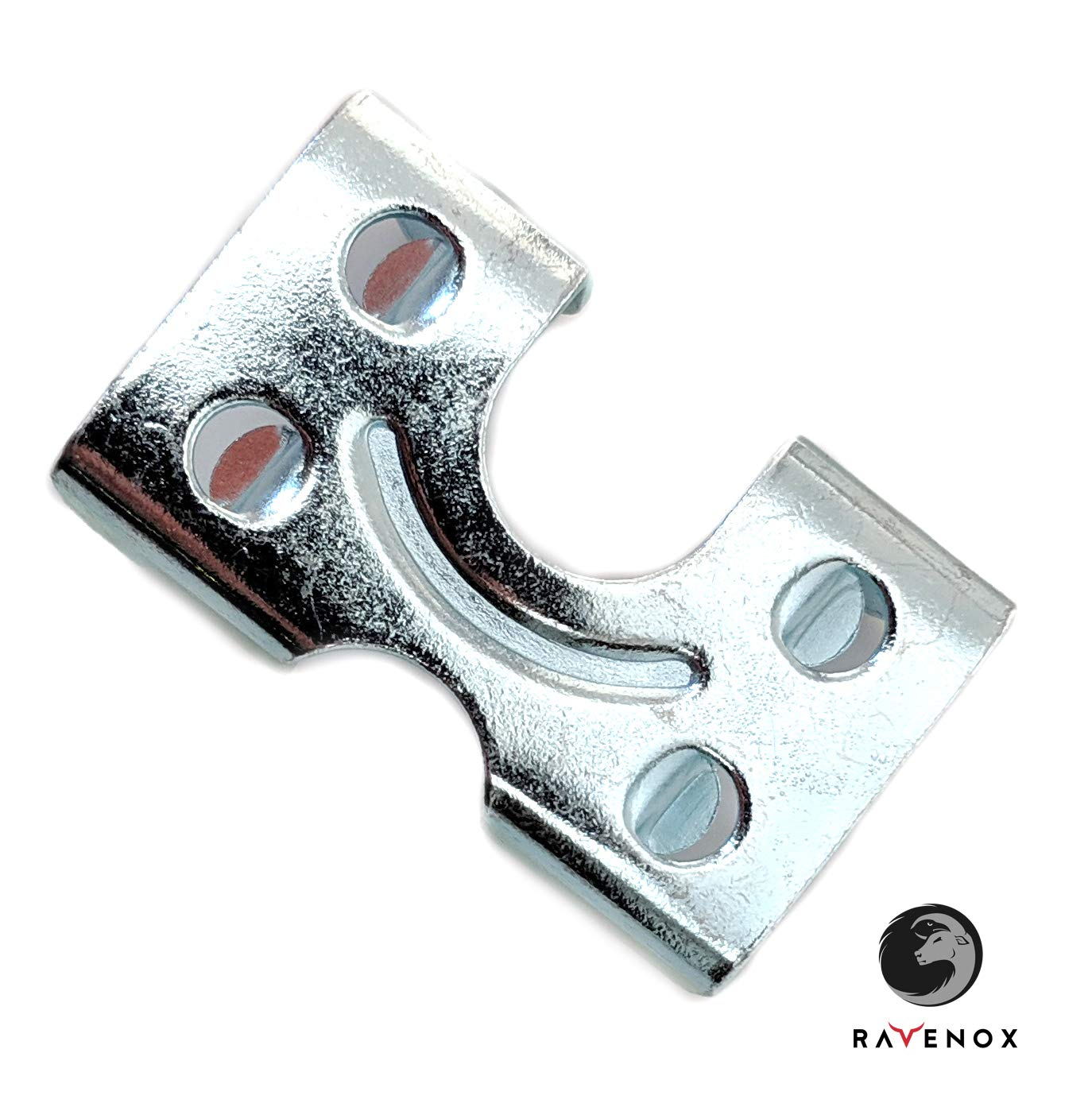 Ravenox Metal Clamps for Rope   3//8-inch x 20 Pack Cables /& Cords   Medium Duty Zinc Plated or Brass Plated Double Rope Clamps Brass Plated 1//2-inch or 5//8-inch Ropes Metal Clips for 3//8-inch