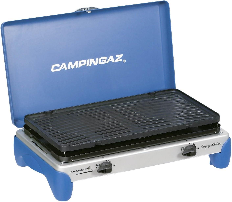 Campingaz Camping Kitchen Grill - Parrilla de Gas para Camping